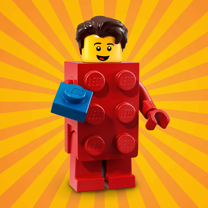 Brick Suit Guy - Series 18 LEGO Minifigure (2018)