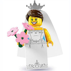 Bride - Series 7 LEGO Minifigure (2012)