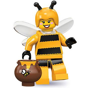 Bumblebee Girl - Series 10 LEGO Minifigure (2013)