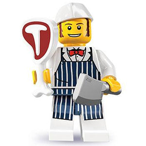 Butcher - Series 6 LEGO Minifigure (2012)