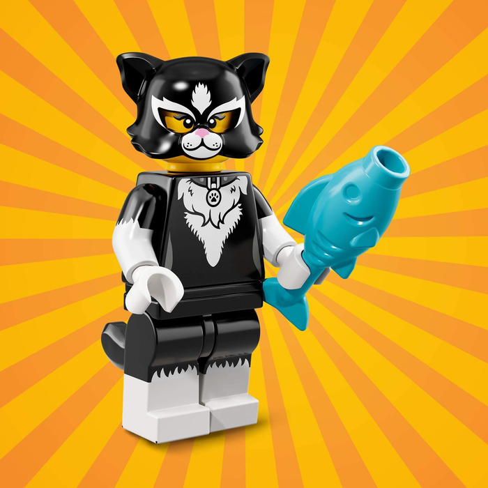 Cat Costume Girl - Series 18 LEGO Minifigure (2018)