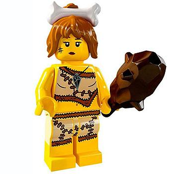 Cave Woman - Series 5 LEGO Minifigure (2011)