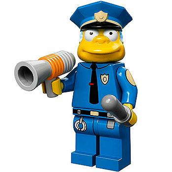 Chief Wiggum - Series 1 The Simpsons Minifigure (2014)