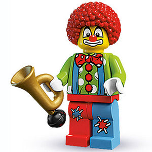 Clown - Series 1 LEGO Minifigure