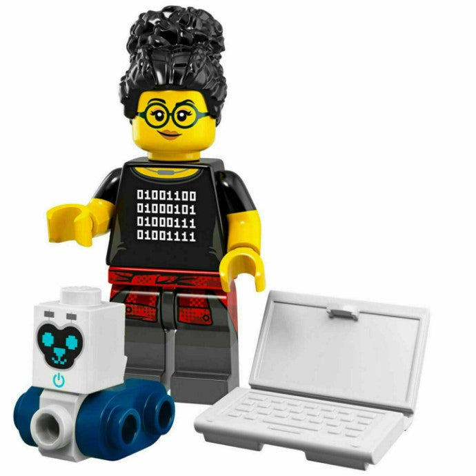 Programmer (Female) - Series 19 LEGO Minifigure (2019)