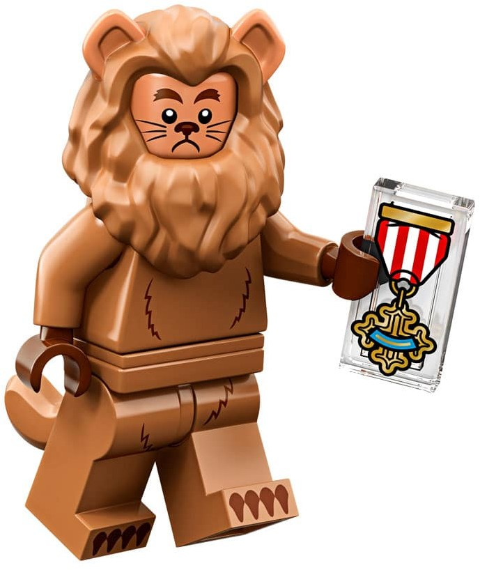 Cowardly Lion - The LEGO Movie 2 Minifigure (2019)