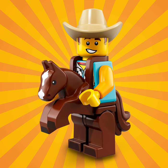 Cowboy Costume Guy - Series 18 LEGO Minifigure (2018)