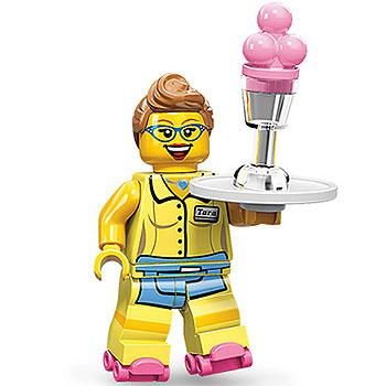 Diner Waitress - Series 11 LEGO Minifigure (2013)