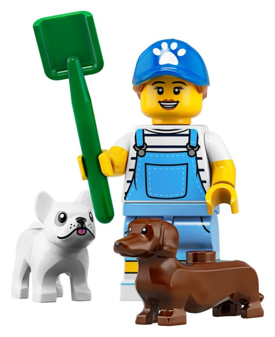 Dog Sitter - Series 19 LEGO Minifigure (2019)
