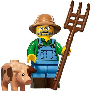 Farmer - Series 15 LEGO Minifigure (2016)