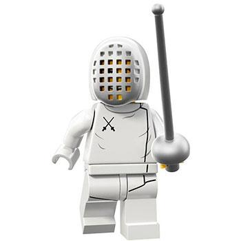 Fencer - Series 13 LEGO Minifigure (2015)