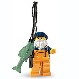 Fisherman - Series 3 LEGO Minifigure (2011)