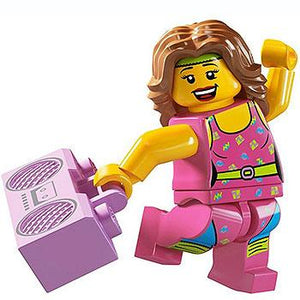Fitness Instructor - Series 5 LEGO Minifigure (2011)