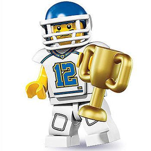 Football Player - Series 8 LEGO Minifigure (2012)