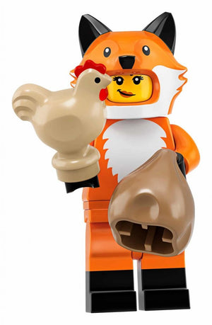 Fox Costume Girl - Series 19 LEGO Minifigure (2019)