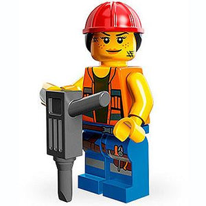 Gail The Construction Worker - Series 1 The LEGO Movie Minifigure (2014)