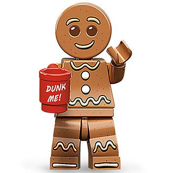 Gingerbread Man - Series 11 LEGO Minifigure (2013)
