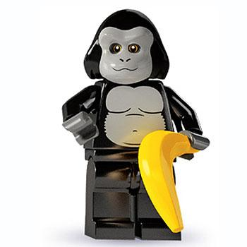 Gorilla Suit Guy - Series 3 LEGO Minifigure (2011)