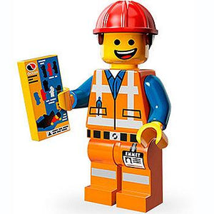 Hard Hat Emmet - Series 1 The LEGO Movie Minifigure (2014)