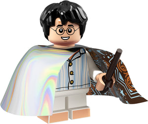 Harry Potter (Invisibility Cloak) - Series 1 Harry Potter LEGO Minifigure (2018)