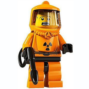 Hazmat Guy - Series 4 LEGO Minifigure (2011)
