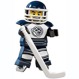 Hockey Player - Series 4 LEGO Minifigure (2011)