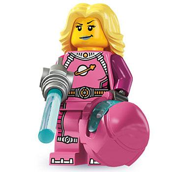 Intergalactic Girl - Series 6 LEGO Minifigure (2012)