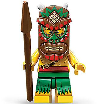 Island Warrior - Series 11 LEGO Minifigure (2013)