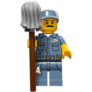 Janitor - Series 15 LEGO Minifigure (2016)