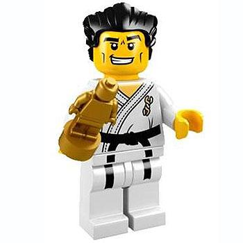 Karate Master - Series 2 LEGO Minifigure (2010)