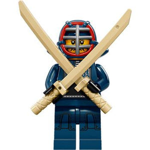 Kendo Fighter - Series 15 LEGO Minifigure (2016)