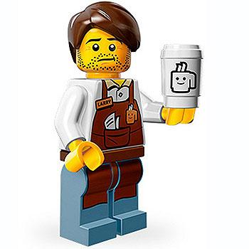 Larry The Barista - Series 1 The LEGO Movie Minifigure (2014)