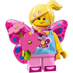 Butterfly Girl - Series 17 LEGO Minifigure (2017)