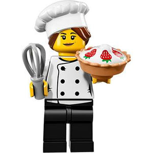 Gourmet Chef - Series 17 LEGO Minifigure (2017)