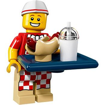 Hot Dog Man - Series 17 LEGO Minifigure (2017)