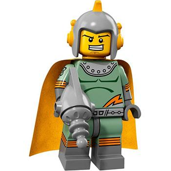 Retro Spaceman - Series 17 LEGO Minifigure (2017)