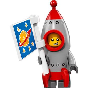 Rocket Boy - Series 17 LEGO Minifigure (2017)