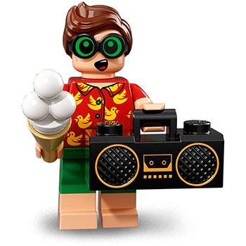 Vacation Robin - Series 2 LEGO Batman Movie Minifigure (2018)