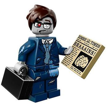 Zombie Businessman - Series 14 LEGO Minifigure (2015)