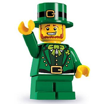 Leprechaun - Series 6 LEGO Minifigure (2012)