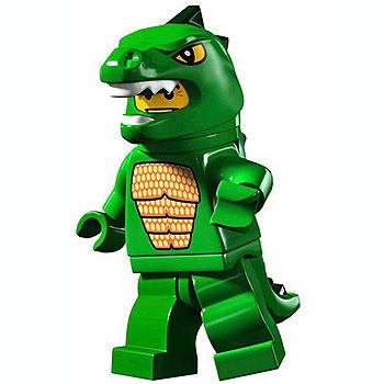 Lizard Man - Series 5 LEGO Minifigure (2011)