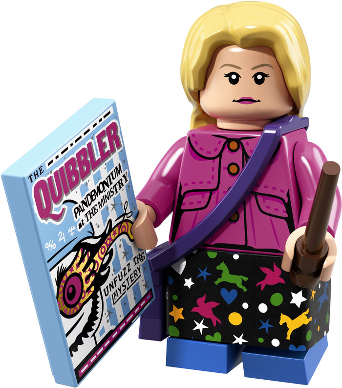 Luna Lovegood - Series 1 Harry Potter LEGO Minifigure (2018)
