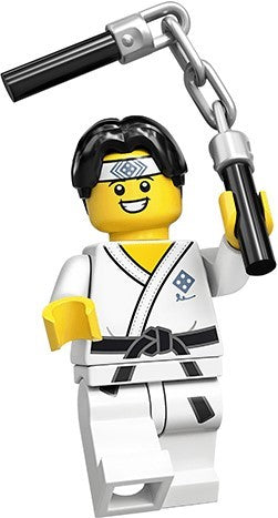Martial Arts Boy - Series 20 LEGO Minifigure (2020)