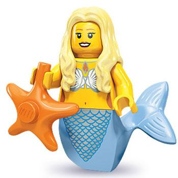 Mermaid - Series 9 LEGO Minifigure (2013)