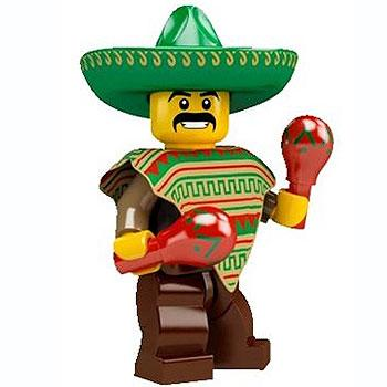 Mexican - Series 2 LEGO Minifigure (2010)