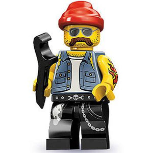 Motorcycle Mechanic - Series 10 LEGO Minifigure (2013)