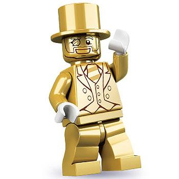 Mr. Gold - Series 10 LEGO Minifigure (2013)