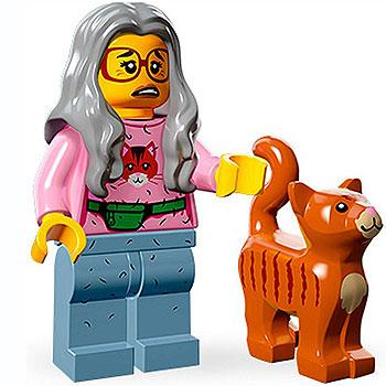 Mrs. Scratchen-Post - Series 1 The LEGO Movie Minifigure (2014)