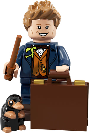 Newt Scamander - Series 1 Harry Potter LEGO Minifigure (2018)
