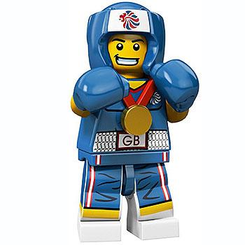 Brawny Boxer - Series Olympic Team GB LEGO Minifigure (2012)